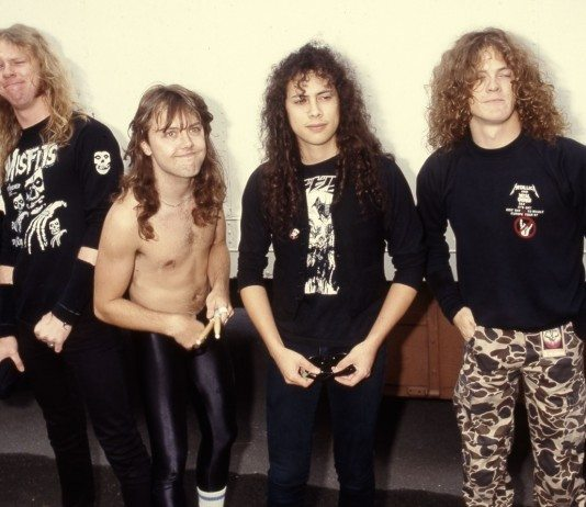Metallica en camerino