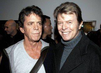 Lou Reed y David Bowie
