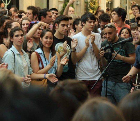 Passenger reúne a 2.000 personas en la calle de Madrid
