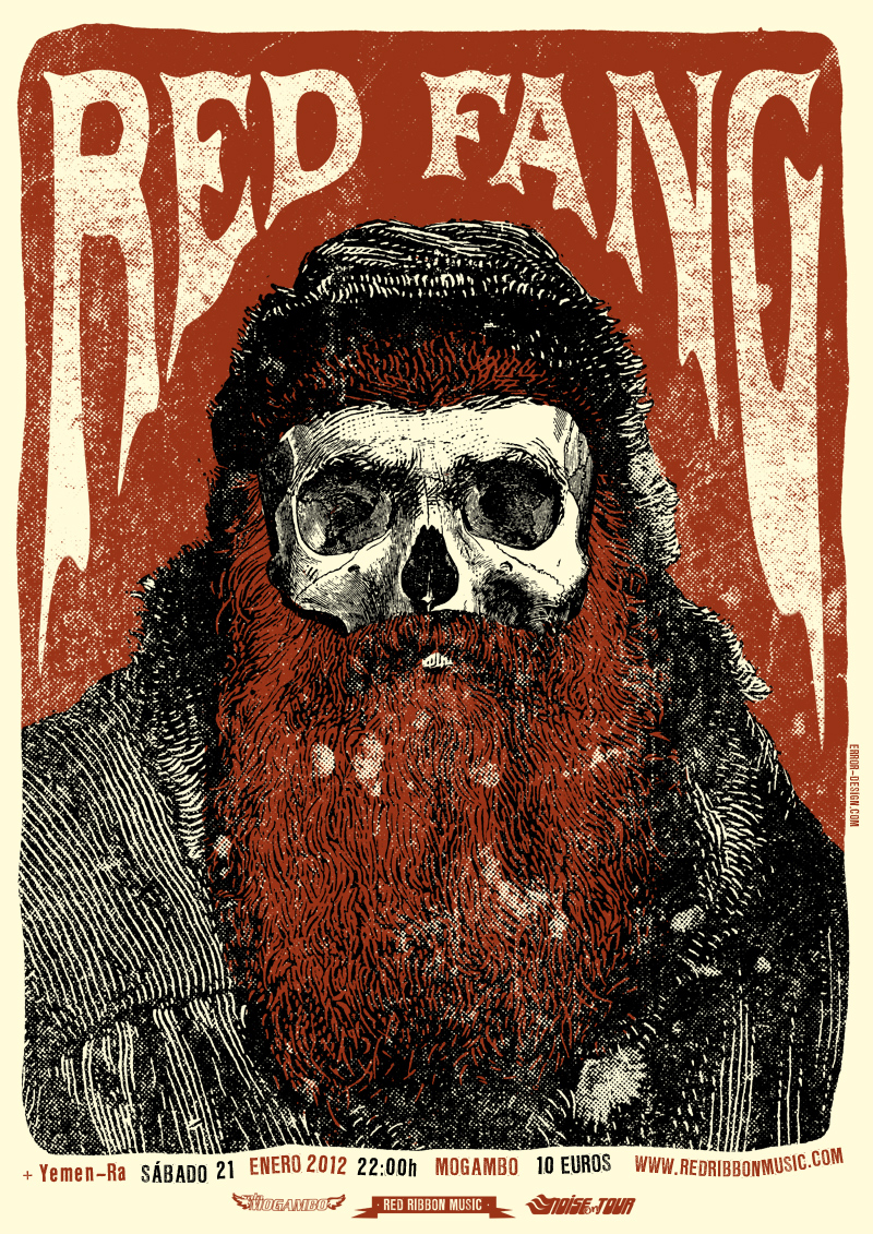 Red Fang Tour Poster