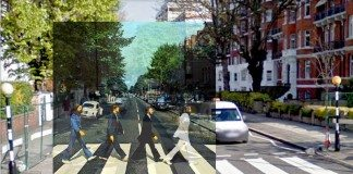 Portada de 'Abbey Road' de The Beatles