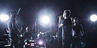 Coldplay en directo presentando su nuevo álbum