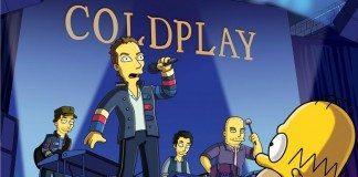 Coldplay en Los Simpsons