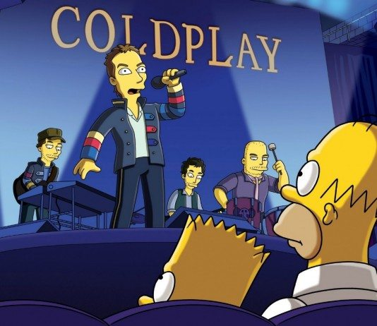 Coldplay en Los Simpsons