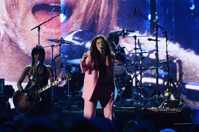 Nirvana y Lorde en el Rock and Roll Hall of Fame 2014