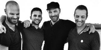 Coldplay en blanco y negro