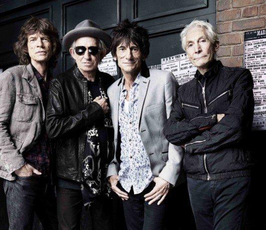 The Rolling Stones en 2014