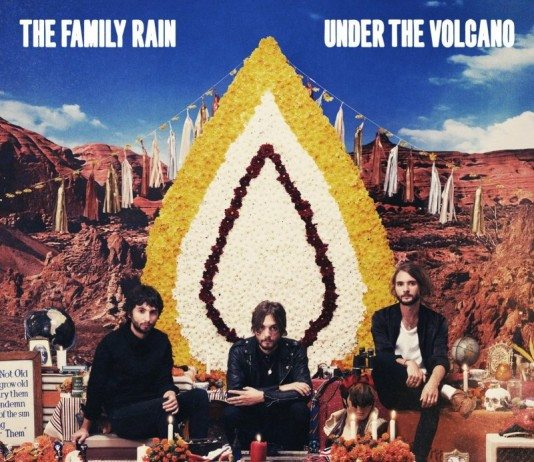 Portada de 'Under the Volcano' de The Family Rain