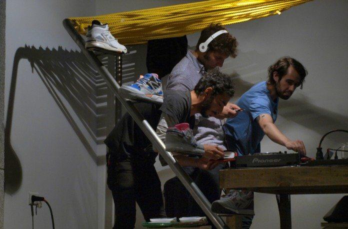 The Right Ons pinchando en el HABLATUMÚSICA Afterwork