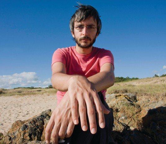 Xoel López en el mar