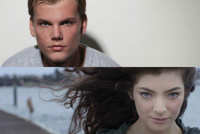 Avicii y Lorde