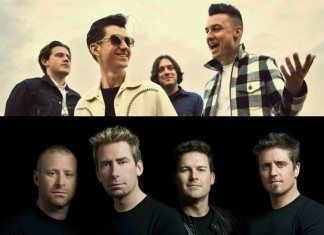 Arctic Monkeys y Nickelback
