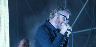 Matt Berninger de The National sobre el escenario Sony del Primavera Sound 2014