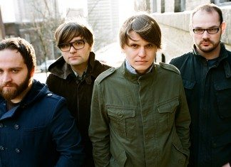 Death Cab For Cutie en la calle