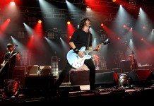 Foo Fighters en directo con Dave Grohl al frente en 2014