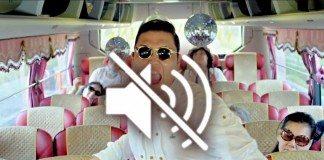 PSY en el videoclip de 'Gangnam Style' en mute