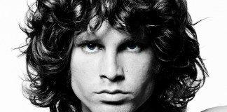 Jim Morrison en blanco y negro