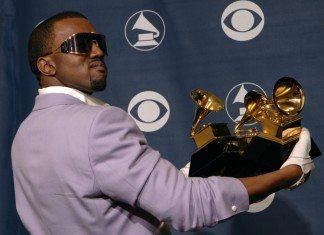 Kanye West en los Grammy con 3 galardones