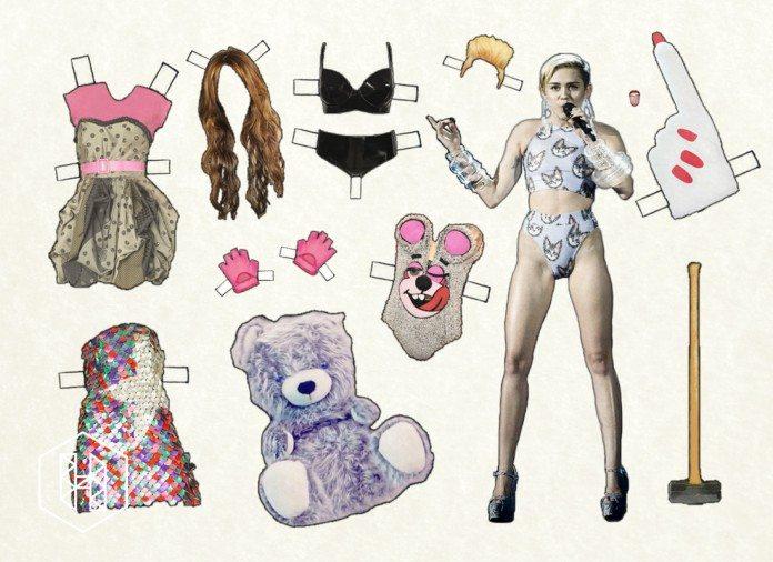 recortable de Miley Cyrus
