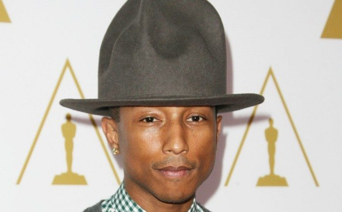 Pharrell Williams en los Oscar