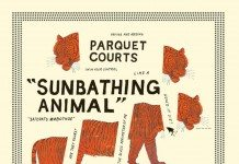 Portada de Sunbathing Animal de Parquet Courts.