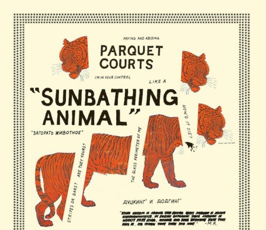 Portada de Sunbathing Animal de Parquet Courts.