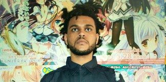 The Weeknd con pósters de manga