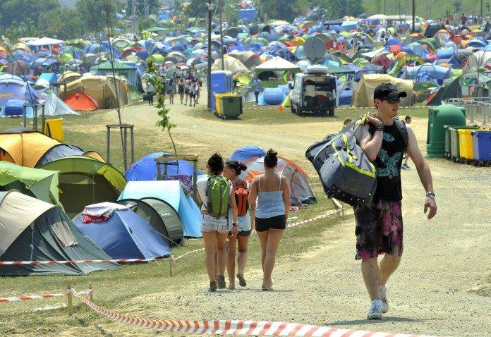 Camping del Bilbao BBK Live