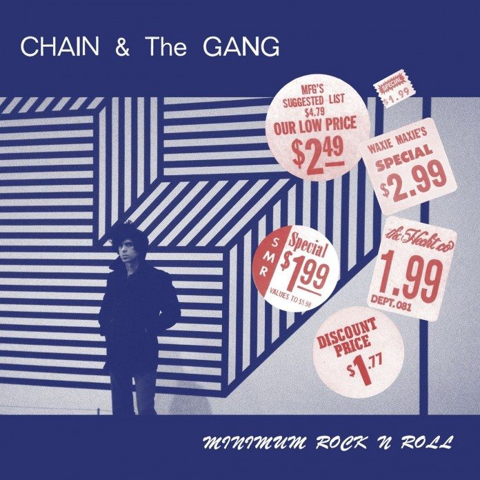 Portada de 'Minimum Rock n' Roll' de Chain & The Gang