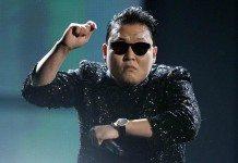 PSY bailando el 'Gangnam Style' en directo con gafas de sol