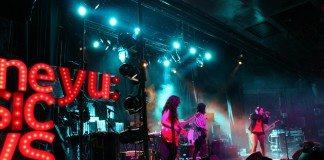 Agoraphobia en los Vodafone yu: Music Shows