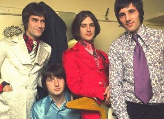 The Kinks en el camerino
