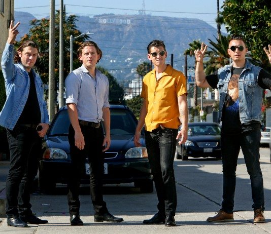 Arctic Monkeys en Hollywood