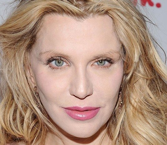 Courtney Love en photocall