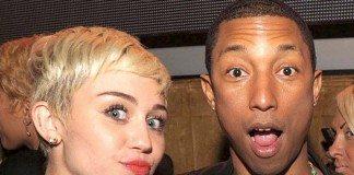 Miley Cyrus y Pharrell Williams