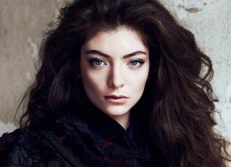 Lorde de frente en una revista canadiense en 2014
