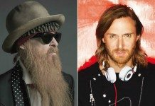 Billy Gibbons de ZZ Top y David Guetta