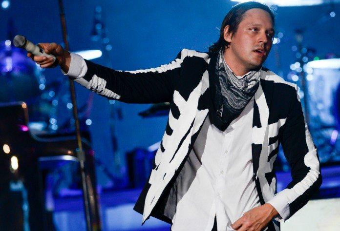 Win Butler de Arcade Fire en Lollapalooza 2014