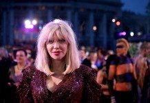 Courtney Love en el Life Ball 2014