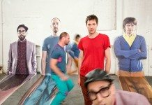 OK Go en el videoclip de 'The Writing's on the Wall'