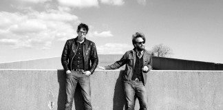 The Black Keys en blanco y negro en 2014