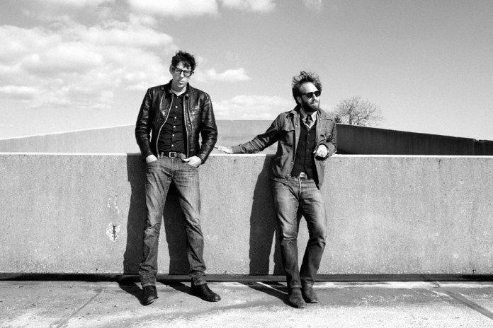 The Black Keys en blanco y negro en 2014