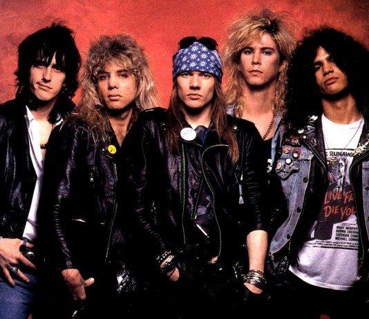 Guns N Roses fondo rojo