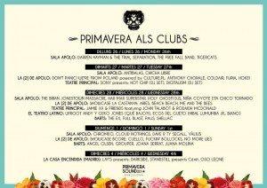 Cartel del Primavera Als Clubs