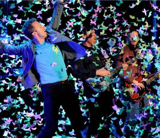 Coldplay en directo
