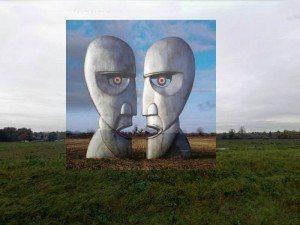 Portada de 'The Division Bell' de Pink Floyd