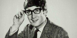 John Lennon con unas gafas de hipster
