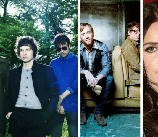 The Kooks, The Black Keys y Lana del Rey