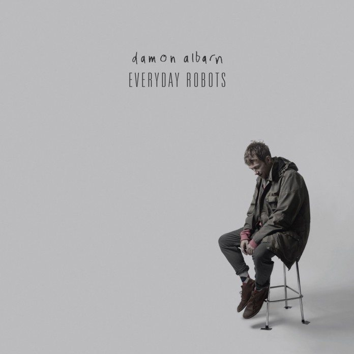 Portada de 'Everyday Robots' de Damon Albarn