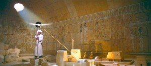 El vinilo de 'Lazaretto' en un templo para descubrir el tesoro.